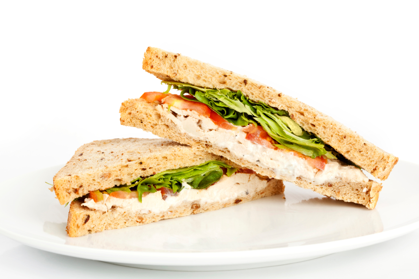 How to make a Chicken Salad Sandwich | Nutrition for Swimmers
