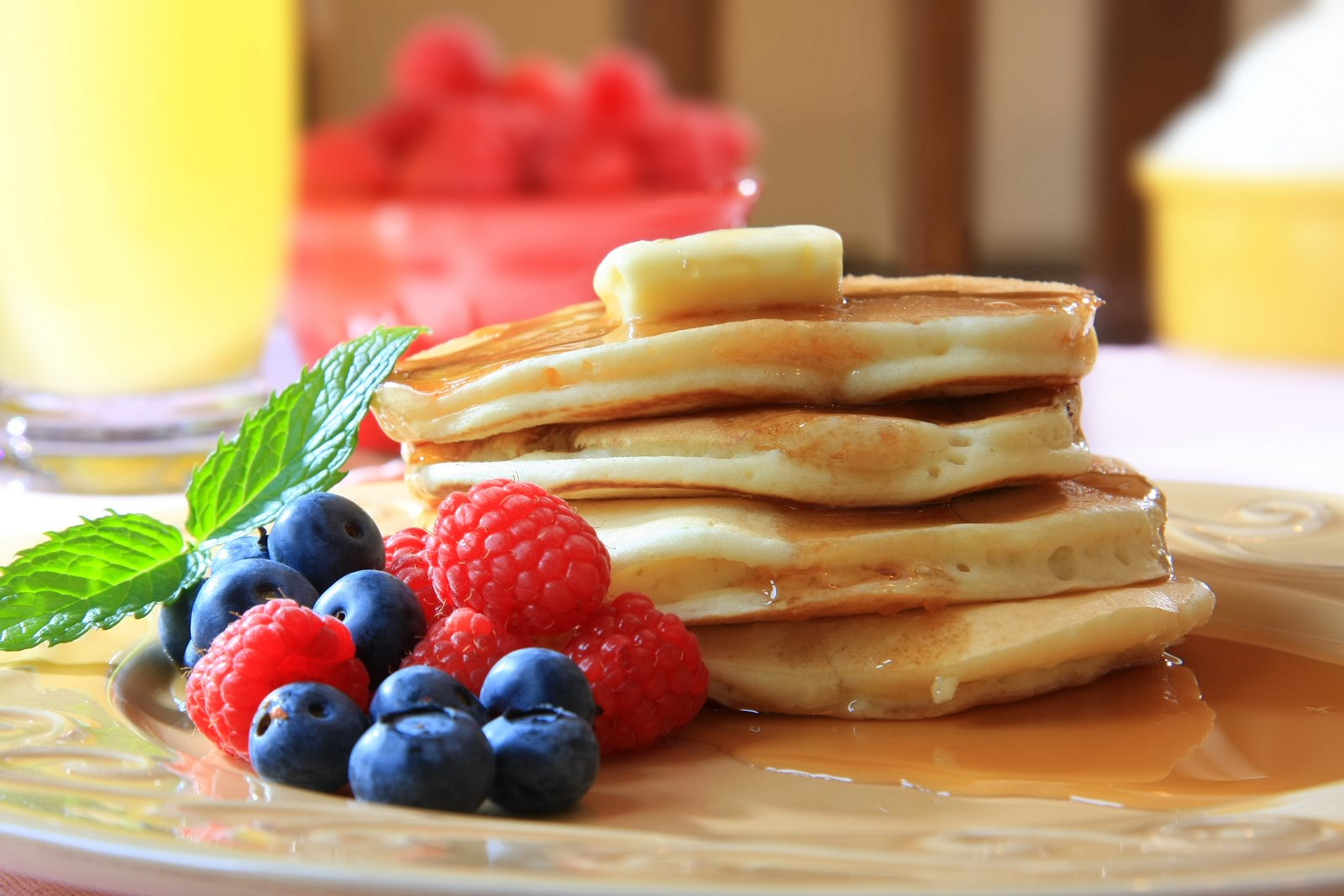 Pancakes – How to make Basic Pancake Mix | Nutrition for Swimmers