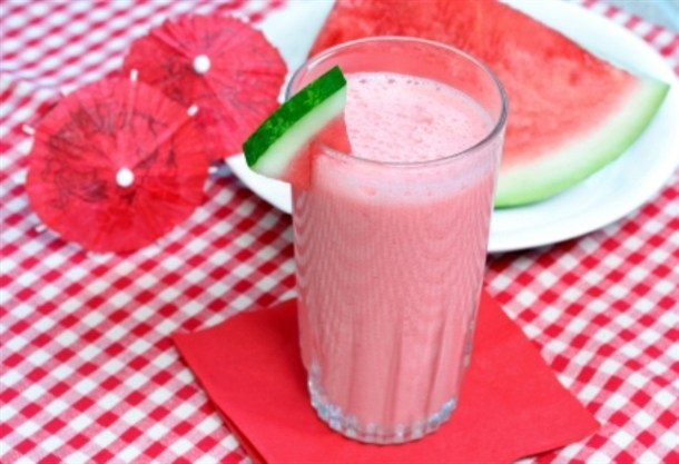 Watermelon Smoothie | Nutrition for Swimmers